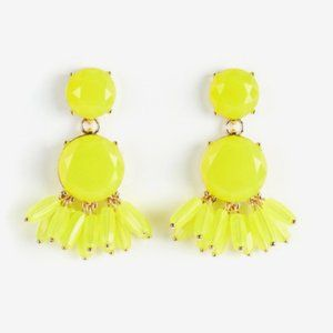 Neon Floral Earrings